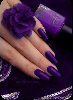 Hot purple matte love it