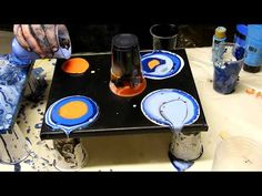 Acrylic Pouring :: Surreal [4K] - YouTube