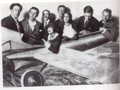 Breton, Desnos, Delteil, Simonne Breton, Paul y Gala Eluard, Baron, Ernst