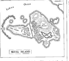 Skull Island the land of King Kong