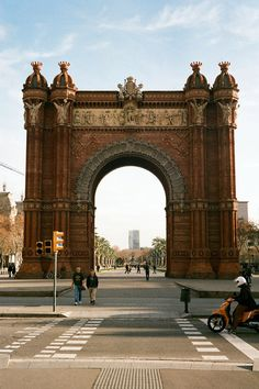 Arc de Triomf, Barcelona, Spain ; i actually have a pic of this on my iphone, but it's not very good tho :-D