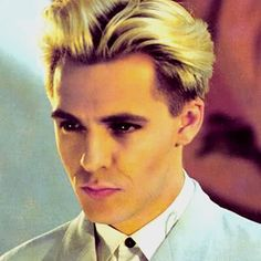 Nick Rhodes, I think this is my favorite Nick hair.