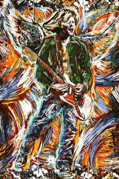 Kurt Cobain art photo Poster and Print Canvas Collectors Kurt Cobain Art, Nirvana Kurt Cobain, Nirvana Art, Nirvana Lyrics, Rock Band Logos, We Will Rock You, Rock Music, Architecture Art, Canvas Art Prints