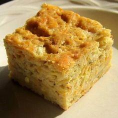 Cheesey Garlic Zucchini Bread-Savory