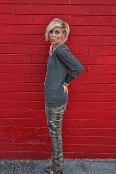 Snake Skin Pants: www.theplatinumblonde.blogspot.com