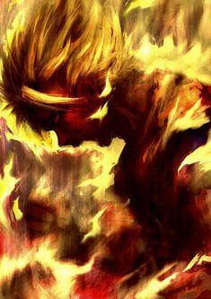 Goku's Fury by ~Mzag on deviantART
