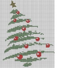 Cross Stitching, Cross Stitch Embroidery, Cross Stitch Patterns, Red Ornaments, Beaded Ornaments, Ornament Tree, Christmas Ornaments, Christmas Stocking, Christmas Decorations