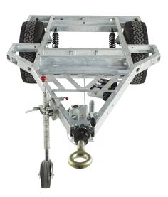 Chaser Adventure Trailer Chassis Vue de face
