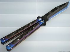 custom knives | Custom Balisong Collaboration by Darrel Ralph and Warren Thomas