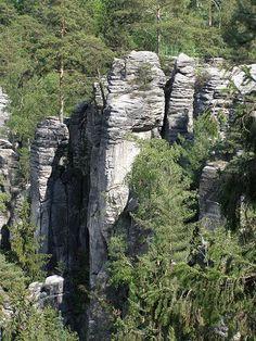 Český ráj, skály Mount Rushmore, Mountains, Nature, Travel, Naturaleza, Viajes, Destinations, Traveling, Trips