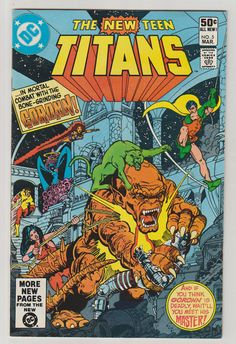 New Teen Titans V1 5.  NM.  March 1981. DC by RubbersuitStudios #teentitans #raven #comicbooks