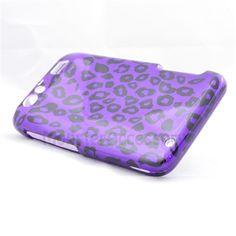 $7.95 > 10% Coupon Code : Pinthis Purple Leopard Hard Case Snap On Cover For  Motorola Atrix 3 HD Dinara MB886