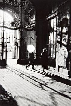 Bruno Bourel, Man With Balloon, 1991.