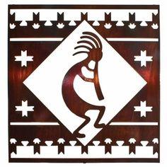 Zuni Fetish Stencil 110