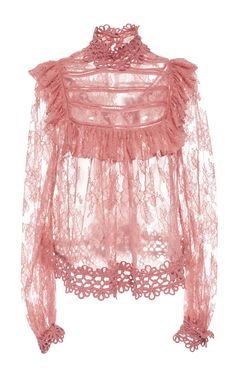 Mischief Manor Ruffled Blouse by ZIMMERMANN Now Available on Moda Operandi