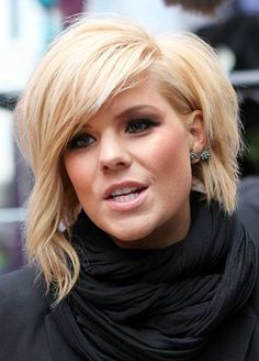 10 Short Bob Hairstyles With Side Swept Bangs | http://www.short-haircut.com/10-short-bob-hairstyles-with-side-swept-bangs.html