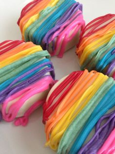 Chocolate Covered Oreos ~ Rainbow ~ My Little Pony ~ Kids Party Favors ~ Baked Goods