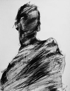 title unknown ~ charcoal (?) ~ by alexandra mantzari