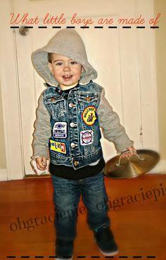 Punk Rock Toddler clothes