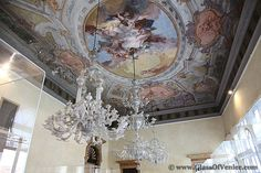 Ancient Murano Glass Chandelier in the world's only Murano Glass Museum