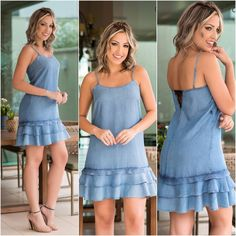 Pinned onto 2018 winter outfits Board in 2018 winter outfits Category Stylish Dresses, Simple Dresses, Beautiful Dresses, Casual Dresses, Casual Outfits, Fashion Dresses, Summer Dresses, Jeans Dress, Dress Skirt