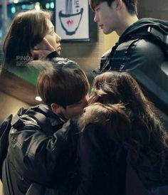 피노키오 fanart gif ep 15 Pinocchio. Lee Jong Suk. Park Shin Hye.