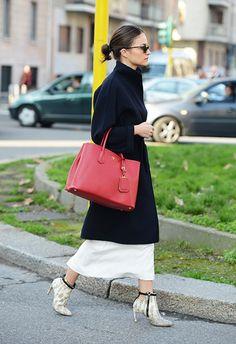 Streetstyle Tommy Ton at Milano Fashion Week Fall 2014