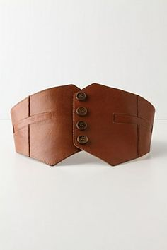 gorgeous leather belt, perfect for autumn!