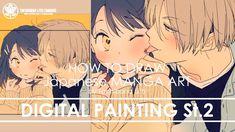 ✔ Digital Painting St.2 Finishing | How to draw Manga Art 2017.12.18