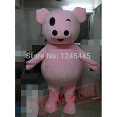 Pink Pig Costume Pig Mascot Costume