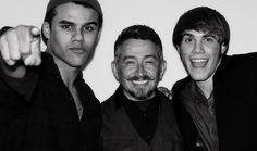 Jacob, Joaquin, & Blake at the Season 4 Wrap Party