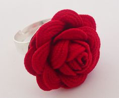 Anillo flor de ondulina Ring tutorial step by step