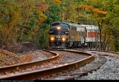 RailPictures.Net Photo: WVC 243 West Virginia Central Railroad EMD F7(A) at Bowden, West Virginia by Chase Gunnoe