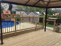 19 Ideas For Backyard Patio Slab Decks Pool Deck Plans, Patio Plans, Cozy Patio, Backyard Patio, Decks Around Pools, Pool Decks, Patio Steps, Patio Layout, Swimming Pools Backyard