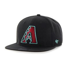 Arizona Diamondbacks Sure Shot Black 47 Brand Adjustable Hat 8d5d9d7f5b84