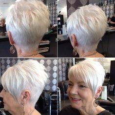 Silver Pixie For Older Women