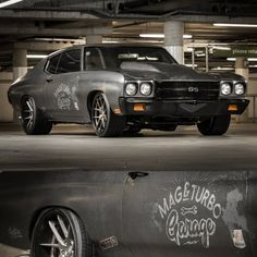 "70 Chevelle SS in Auckland for Mag and Turbo Garage!…"" #BecauseSS niche wheels concave tucked"