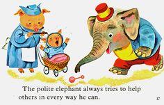 Polite Elephant, Richard Scarry 1963