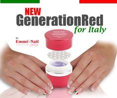 Gel ricostruzione unghie Generation Red #EmmiNail