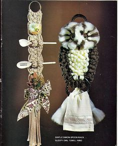 Macrame Visions  Macrame Pattern Book MM 351 by grammysyarngarden, $6.00
