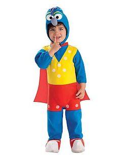 Infant Toddler Gonzo Sesame Street Costumeclass=