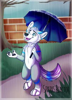 Rainy Day by SparksFur