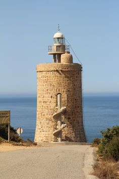 Faro del Caraminal Cádiz Spain All Over The World, Around The Worlds, English Castles, Safe Harbor, Beacon Of Light, Cadiz, Windmill, Monument Valley, Architecture Design