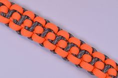 "How to make ""The Binary"" Paracord Survival Bracelet - BoredParacord"