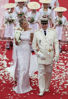 HSH Prince Albert and HSH Princess Charlene of Monaco