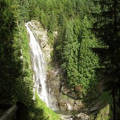 10 Great Waterfall Hikes near home. Wallace Falls just made my short list. Go Hiking, Hiking Trails, Hiking Spots, Wallace Falls, Waterfall Trail, Paraiso Natural, Dream Vacations, Family Vacations, Outdoor Fun