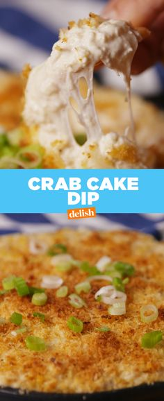 Crab Cake Dip is so good you'll want to lick the skillet. Get the recipe from Delish.com.