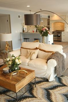 """A Modern Interior Flipped and Designed by Nicole """"Snooki"""" Polizzi."""