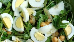 Warm Spiced Chickpea Arugula Salad | Care2 Healthy Living