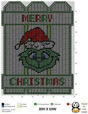 Plastic Canvas Coasters, Plastic Canvas Ornaments, Plastic Canvas Crafts, Plastic Canvas Patterns, Fabric Christmas Ornaments, Christmas Crafts, Christmas Patterns, Grinch Christmas, Xmas Baubles